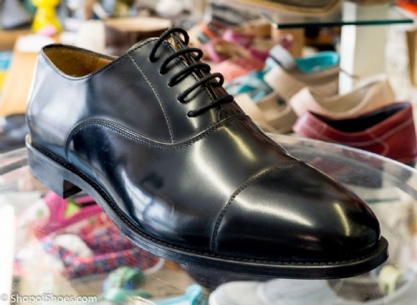 Oxfords with leather stitched sole.